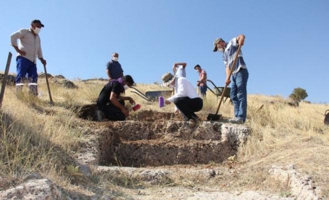 Perre Antik Kentte 11 yıl sonra kazılar tekrar başladı