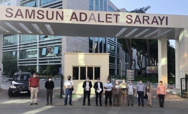 Samsun'da  STK'lardan Erol Mütercimler hakkında suç duyurusu