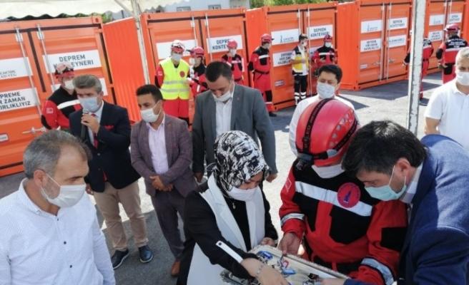 Sancaktepe'deki deprem konteynerleri hayat kurtaracak