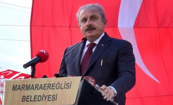 """TBMM Başkanı Şentop: """"Belli suçlara mahsus olmak üzere idam cezasının olması gerektiği kanaatindeyim"""""""