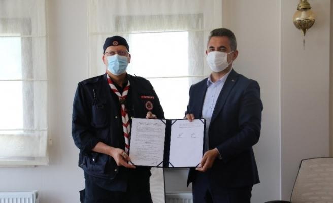 Türkiye İzcilik Federasyonu ve Mamak Belediyesi işbirliği protokolü imzalandı