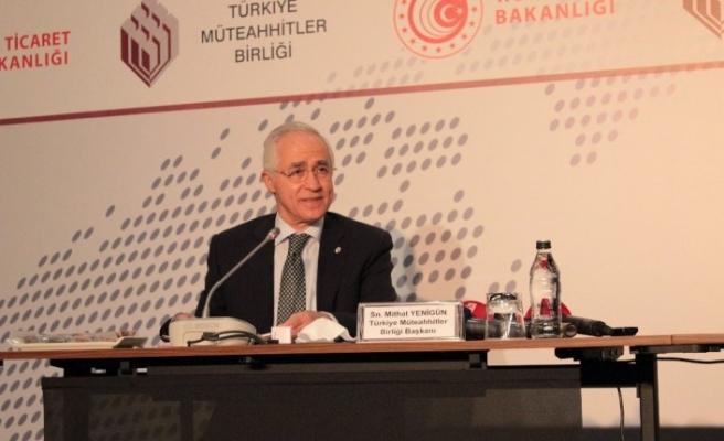 """Türkiye Müteahhitler Birliği Başkanı Yenigün: """"Elde ettiğimiz güzel sonuçlar yüzümüzü güldürüyor"""""""