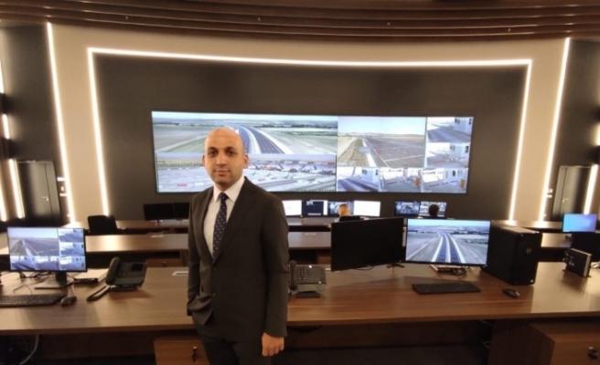 Türkiye'nin en akıllı yolunun Ana Kumanda Merkezi