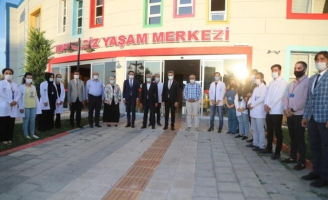 Türkiye'nin en kapsamlı Engelsiz Yaşam Merkezine ziyaret
