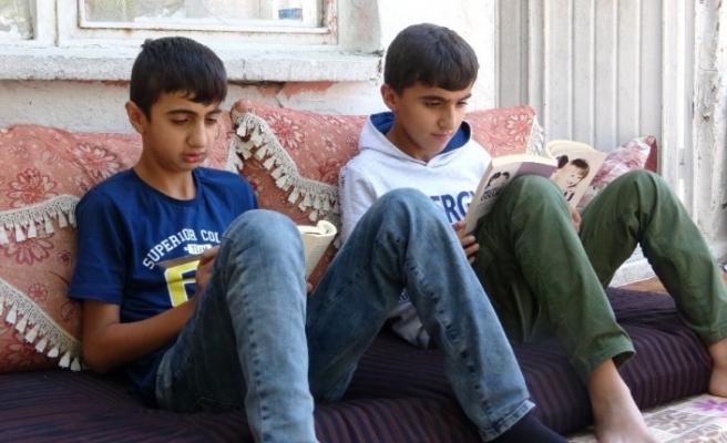 Türkiye'nin gururu kardeşlerin ilk kez uçağa binme heyecanı