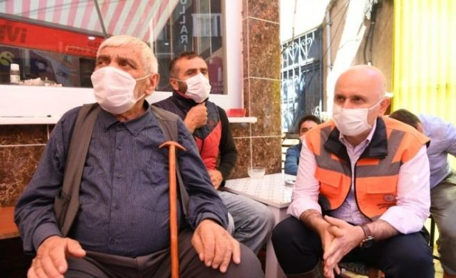 Ulaştırma ve Altyapı Bakanı Karaismailoğlu sel bölgesinde