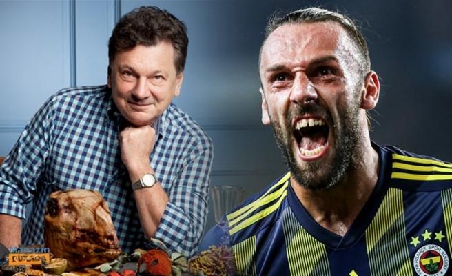 Vedat Milor'dan Fenerbahçeli Vedat Muriqi'e Çiğ Et Göndermesi!