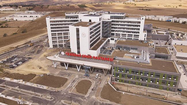 Yabancı hastaya Tekirdağ'da tedavi