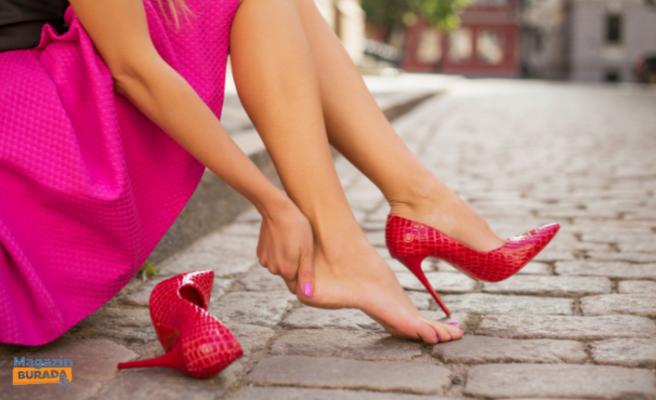 Yüksek Topuklu Ayakkabılar Zararlı mıdır?