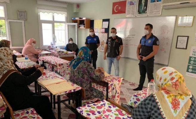 """Adana'da """"annelere"""" narkotik eğitimi"""