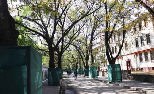 Ankara'nın ilk toplu konut projesi olan Saraçoğlu Mahallesi canlandırılıyor