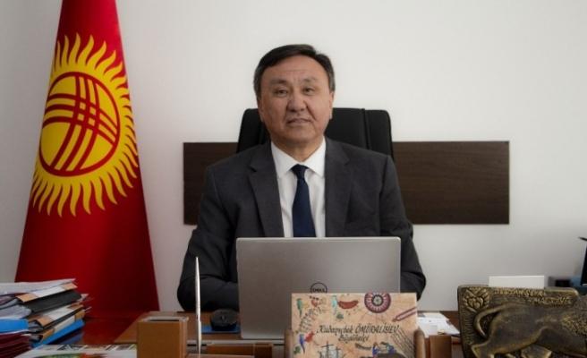 ATAMDER'den Kırgızistan Büyükelçisine ziyaret