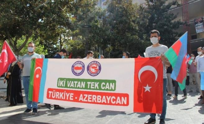 Azerbaycan'a bir destek de Genç Memur-Sen'den