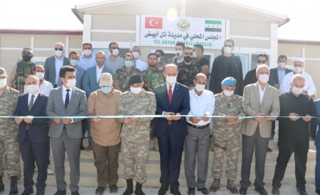 Barış Pınarı Harekatı'nın yıldönümünde şehitler için Telabyad'da mevlit okutuldu