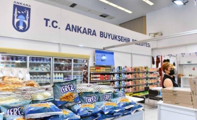 """""""Başkent Market"""" Türkiye Kooperatifler Fuarı'nda görücüye çıktı"""