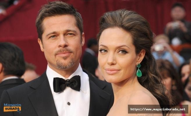 Brad Pitt Ve Angelina Jolie Cephesinde Yeni Gelişme! ''Rol Arkadaşı...''