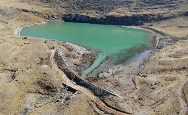 Çakırgöl'den Trabzon'a can suyu