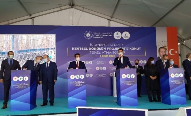 """Çevre ve Şehircilik Bakanı Murat Kurum: """"Ülkemizde dönüştürmemiz gereken 1.5 milyon konutumuz var"""""""