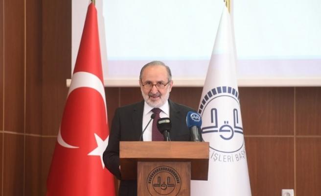 Din İşleri Yüksek Kurulu Başkanlığı'na Prof. Dr. Haçkalı seçildi