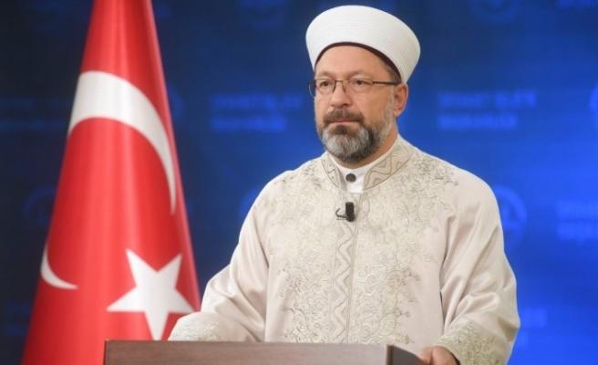 """Diyanet İşleri Başkanı Erbaş: """"İslam'ın 'yaratılış' fikrine karşı ortaya çıkan düşünceler, rasyonel açıdan da problemlidir"""""""