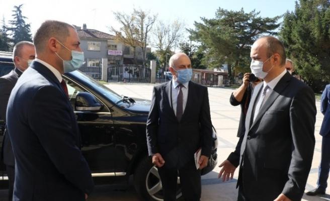 Edirne ile Bulgaristan'ın Eski Cuma kenti arasında iş birliği protokolü imzalandı