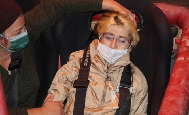 Engelli genç kızın Kapadokya'da balona binme hayali gerçeğe dönüştü