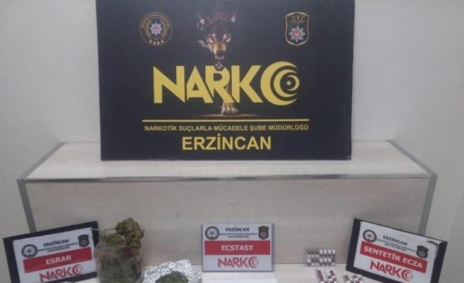 Erzincan'da uyuşturucu operasyonu: 2 kişi tutuklandı