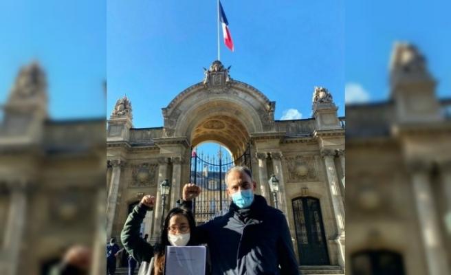 Fransa'da Uygur Türkleri için farkındalık kampanyası başlatıldı