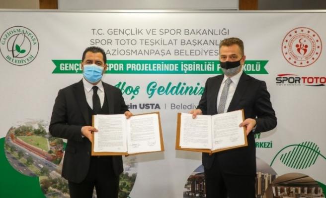 Gaziosmanpaşa'ya 300 bin metrekare alana spor vadisi inşa edilecek