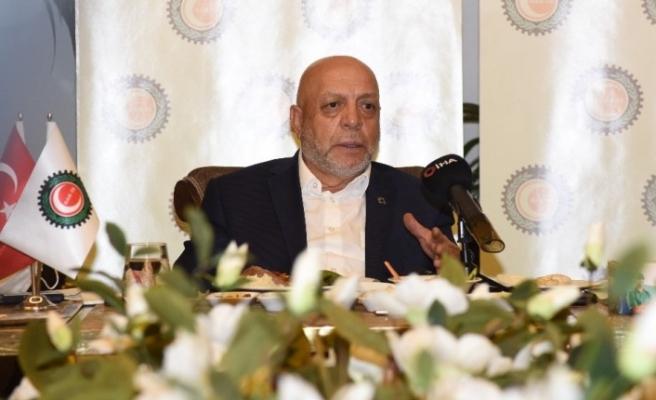 """HAK-İŞ Genel Başkanı Arslan: """"Bizim için birinci gündem maddesi 696 sayılı kanun hükmündeki kararnamenin 1 Kasım itibari ile yeni bir aşamaya gelmiş olması"""""""