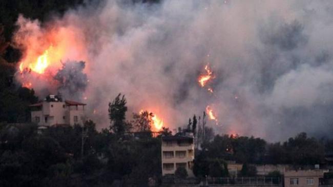 Hatay'da yangın çıkan bölgeye maden yapılacağı ortaya çıktı