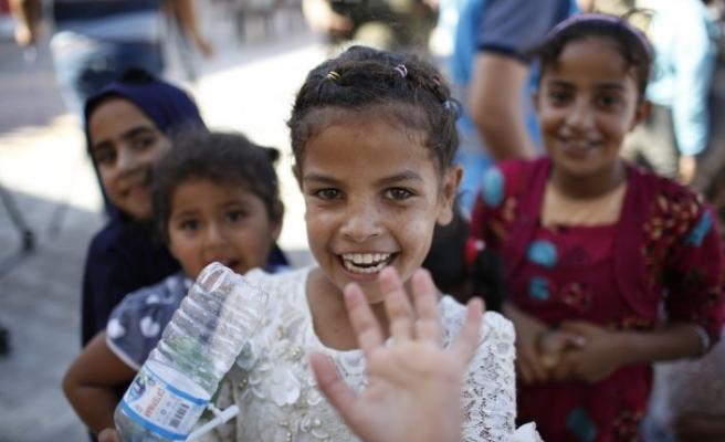 İdlib'te yetim çocuklar ve anneleri için Sosyal Hizmet Merkezi açıldı