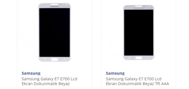Samsung E7 Ekran Fiyatı Orjinal Ürünler Telefon Parçası'nda!
