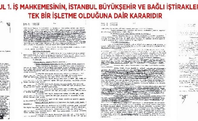 İstanbul Büyükşehir'de yetki tespiti Hizmet-İş'te