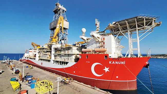 Kanuni sondaj gemisi 2021'de Karadeniz'de