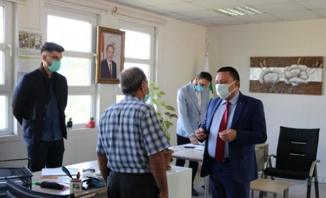 Kentsel dönüşümün yapılacağı Bağlar'da belediye, irtibat bürosu açtı