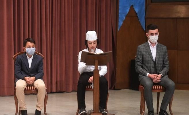 Kur'an-ı Kerim'i Güzel Okuma Yarışması ödül töreni yapıldı