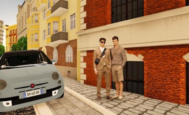 """Modada bir ilk; İtalya sokaklarında """"sanal"""" defile"""