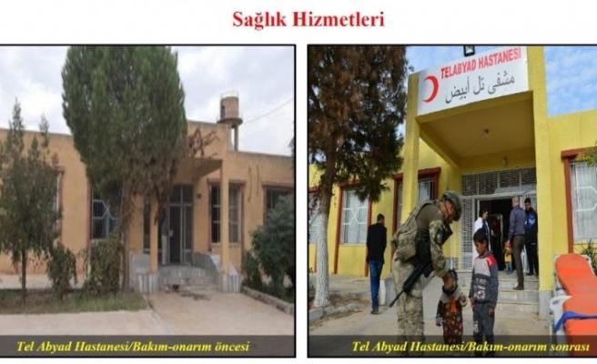 """MSB: """"Söz konusu harekat ile sadece Türkiye'nin değil, diğer bölge halklarının da güvenliği hedeflenmiştir"""""""