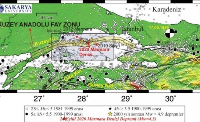 """Sakarya Üniversitesi uzmanları: """"Marmara Denizi'ndeki deprem Silivri depreminin artçısı olabilir"""""""