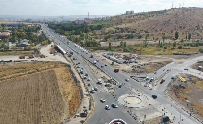 Sincan OSB-Yenikent Sanayi Sitesi arası trafiğe açıldı