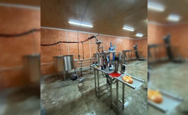 TİKA Gürcistan'da organik meyve suyu üretim tesisi kurdu