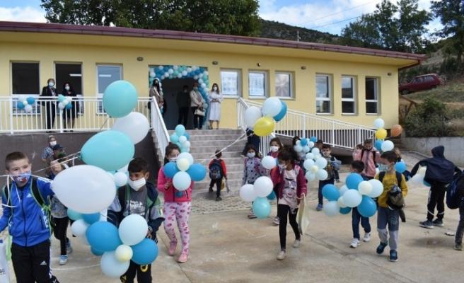 TİKA'dan, Kuzey Makedonya'da yaşayan Türklere eğitim desteği
