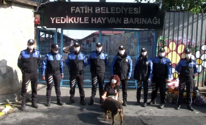 Toplum Destekli polis ekiplerinden anlamlı ziyaret