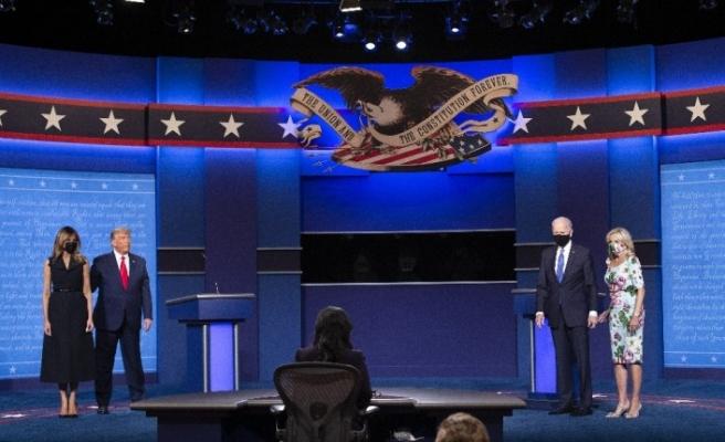 Trump ve Biden düellosu gerçekleşti