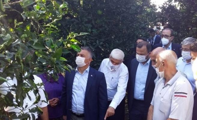 """Vali Ersin Yazıcı afet bölgesini inceledi: """"Hasarımız büyük"""""""