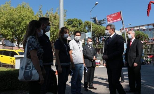 Vali Şıldak koronavirüs denetimlerine katıldı