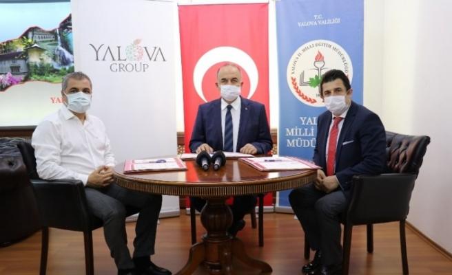Yalova Group eğitime verdiği desteklerini okul yaptırarak taçlandırıyor