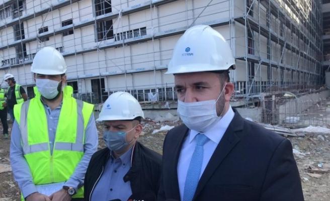Yalova'da yapımı devam eden hastanede 8,5 şiddetinde depremde dahi ameliyat yapılabilecek
