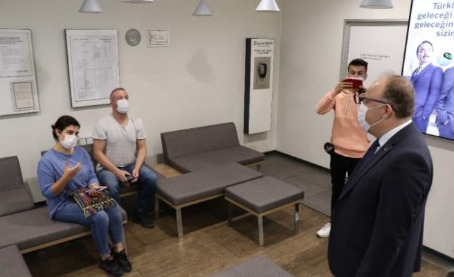 Zonguldak'ta korona virüsle mücadelede günlük test sayısı rekoru kırıldı